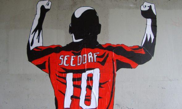 Uno dei murales più iconici dei Kamp Seedorf